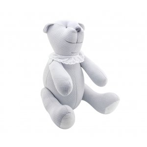 Decorative teddy bear Pure Grey