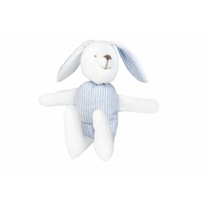 Decorative bunny white and azure