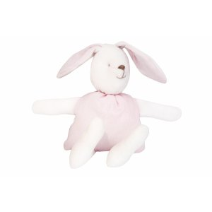Decorative bunny white and pink