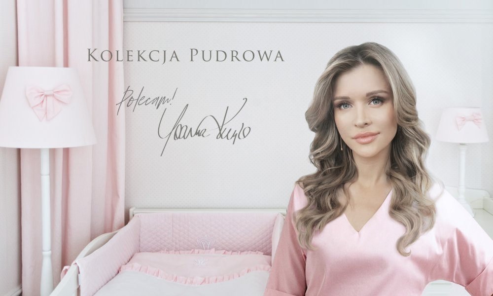 Joanna Krupa and Baby Pink collection