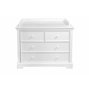 Dresser with drawers and changing station- french line