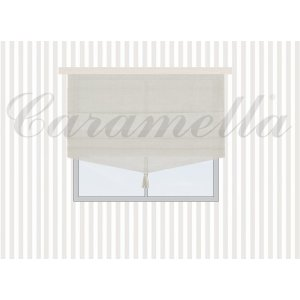 Roman blind with tassel