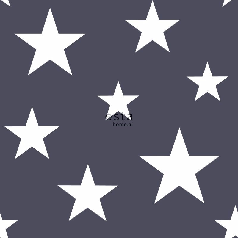 Dark Blue Wallpaper With White Stars All Wallpapers Wallpapers Shop On Line Caramella