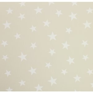 Beige wallpaper with stars