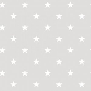 Grey wallpaper with white stars