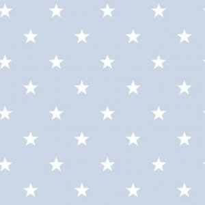 Azure wallpaper with white stars