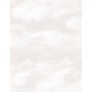 Beige wallpaper with clouds