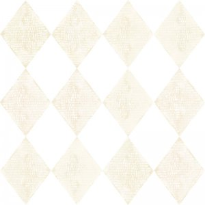 Wallpaper with beige rhombuses