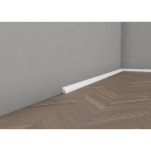 Floor moulding lacquered quadrant 21 mm