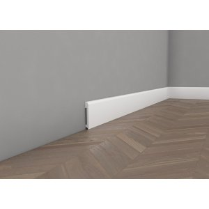 Floor lacquered moulding 8 cm