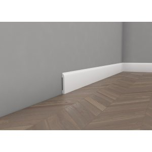 Floor lacquered moulding 8,5 cm