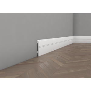 Floor lacquered moulding 11 cm