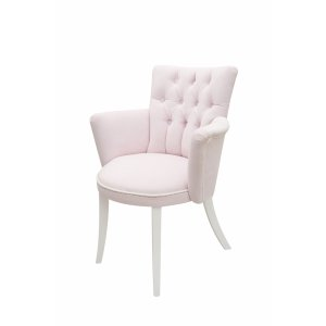 Quilted baby pink chair