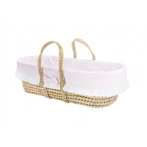 Moses' baby pink basket