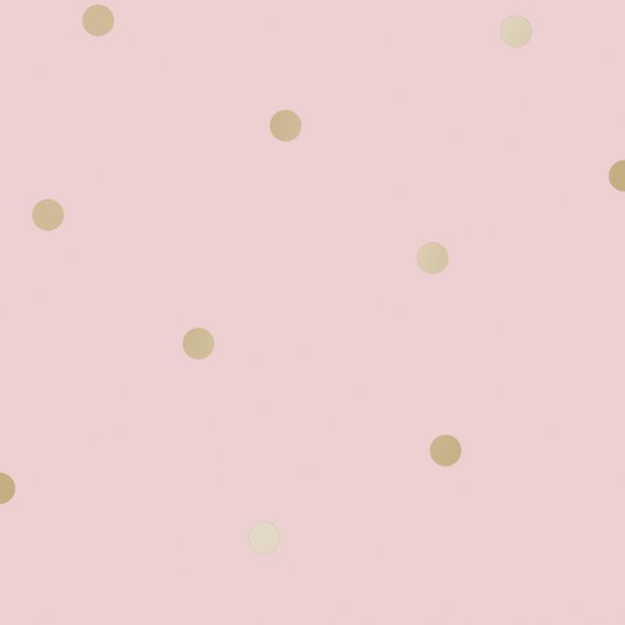 Pink-wallpaper-with-golden-dots