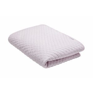 Child bedspread quilted baby pink