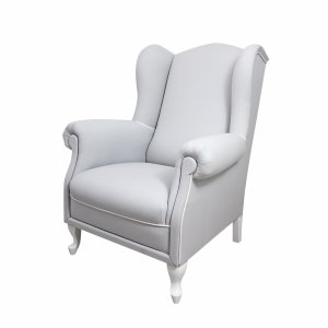 Light grey armchair