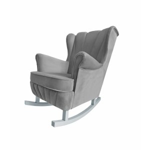 Anthracite rocking armchair Shell