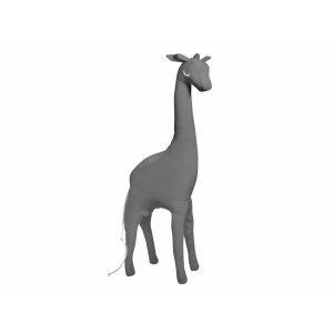 Decorative anthracite giraffe