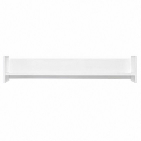white modern shelf
