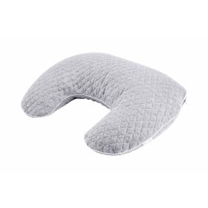 Grey feeding pillow